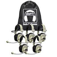 Hamilton Buhl Sack-O-Phones 5 HA-66M Deluxe Multimedia Headphones