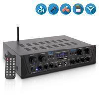 Pyle PTA44BT 4-Channel 500W Bluetooth Home Audio Stereo Amplifier Receiver System