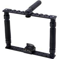 K-Tek KN2285 Norbert Camera Sport Frame with Top and Bottom Mounting Plates for HDSLR / Compact HD Cameras