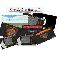 Laser Ammo Smokeless Range 2.0 Home Simulator Combo Pack with Short-Throw Camera