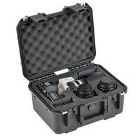 SKB iSeries Injection Molded Waterproof Case I for DSLR Cameras and Accessories
