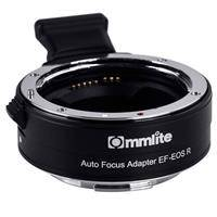 Commlite EF Lens to EOS R Camera Adapter with Electronic Iris and AF