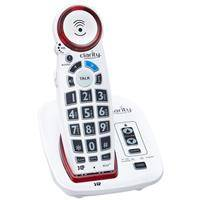 Clarity XLC2 DECT 6.0 Amplified Cordless Big Button Speakerphone with Talking Caller ID