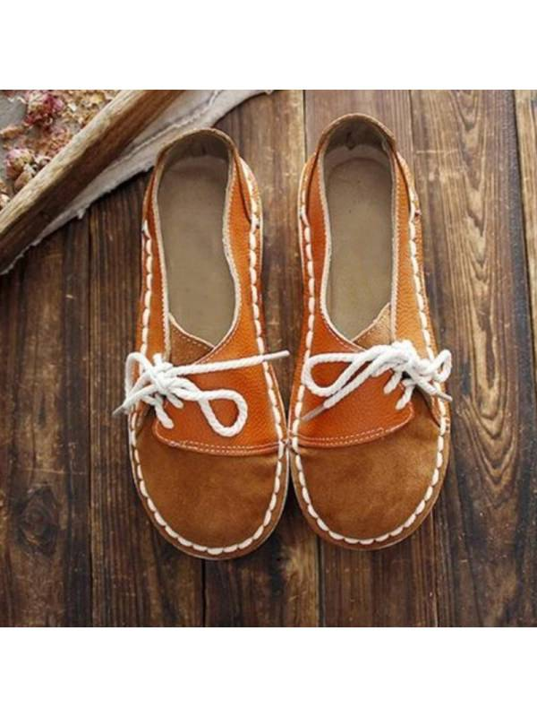 1 Womens round-toe casual comfortable flat shoes