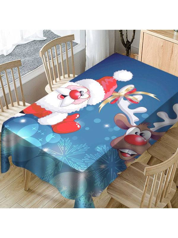 1 New tablecloth with Christmas elements