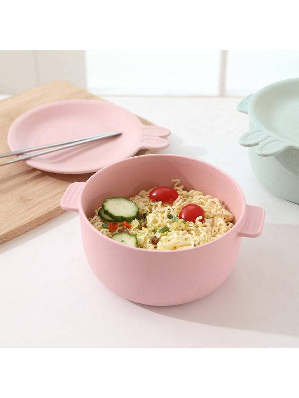 1 Bamboo Fiber Instant Noodle Bowl