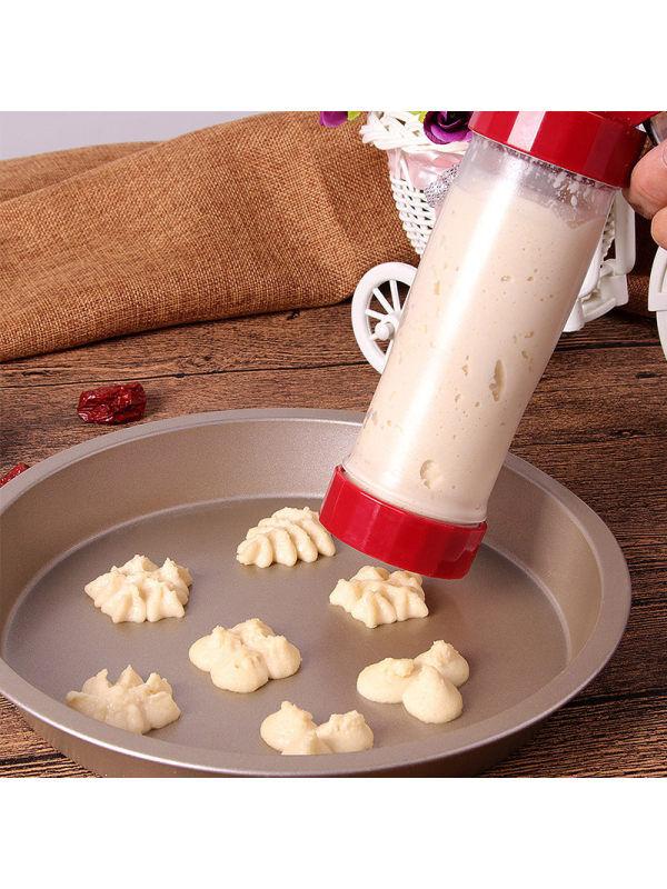 1 Baijie Baking Tools Cookie Mould Cream Decorating Mouth Baking Mold Biscuits Cookies Cookies Decorating Gun