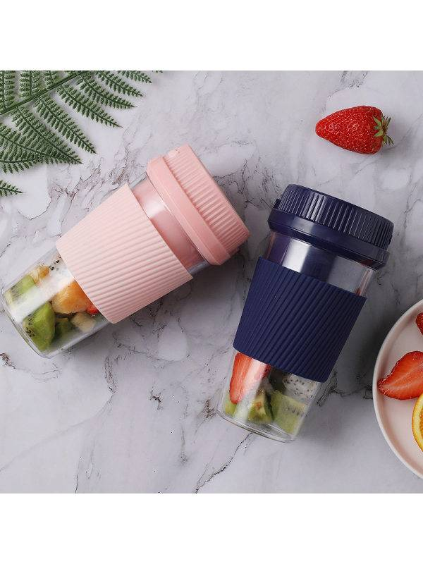 1 Mini household electric juicer portable usb rechargeable juicer cup fruit machine juice cup gift customization