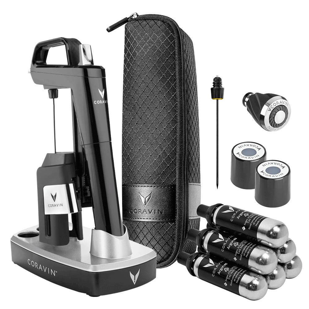 Coravin Model Six Ultimate Wine Lovers Pack-Piano Black