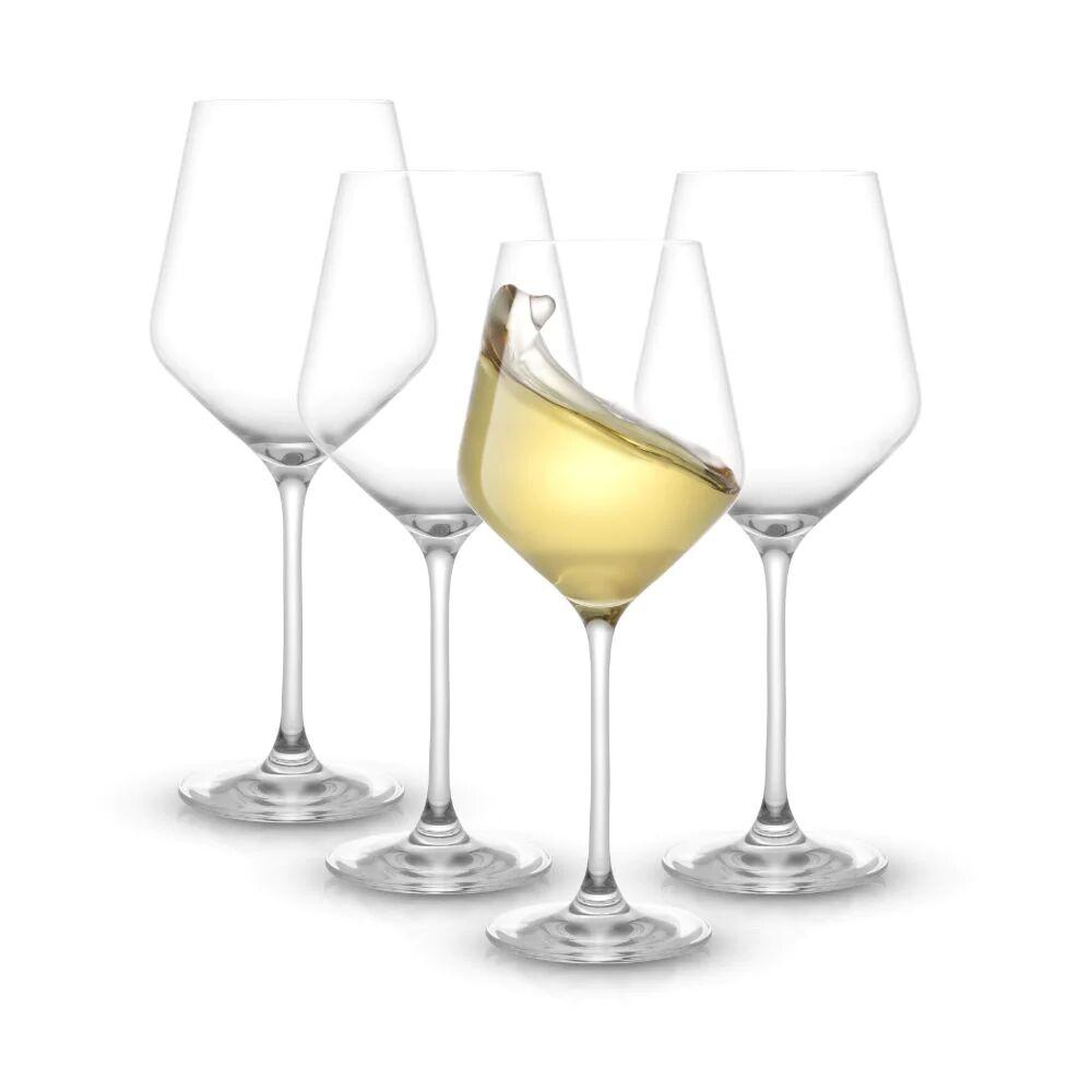 JoyJolt Layla White Wine Glasses