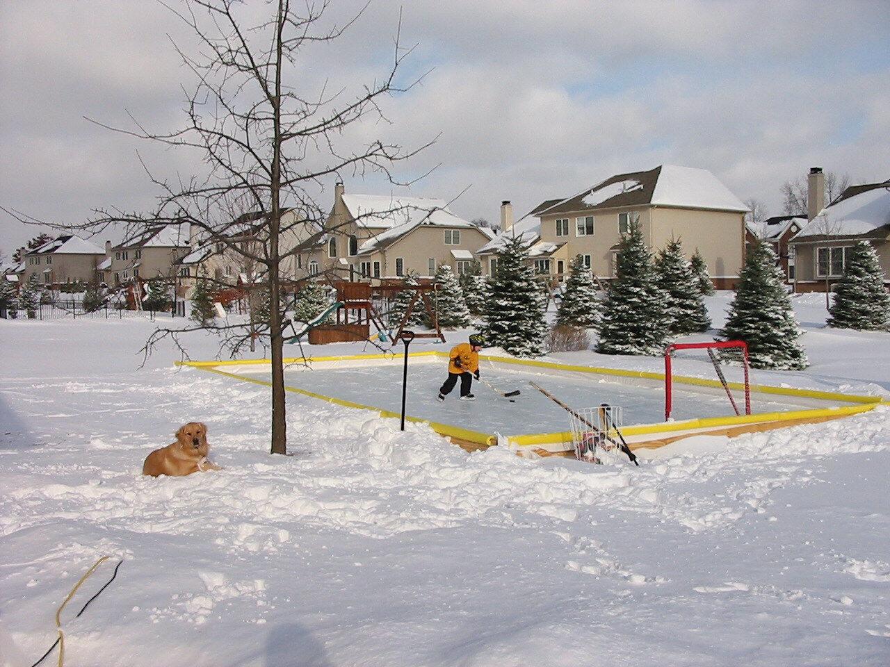 Nice Ice NiceRink Outdoor Ice Rink