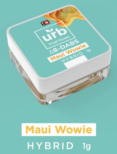 Urb Maui Wowie Delta-8 Dabs