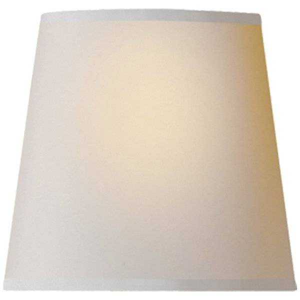 Visual Comfort Natural Paper Candle Clip Shade - Color: Beige - CHS 104NP