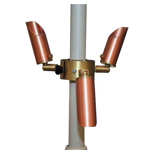 Focus Industries Copper LED Umbrella Lights - UL-03-LED-CAR
