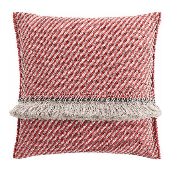 Gan Rugs Garden Layers Outdoor Diagonal Big Pillow - Color: Red - 02GA53075URG3