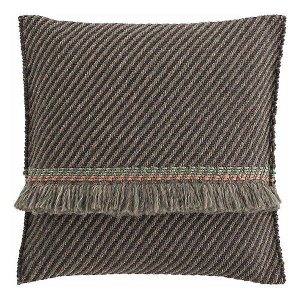 Gan Rugs Garden Layers Outdoor Diagonal Big Pillow - Color: Blue - 02GA53075URG7