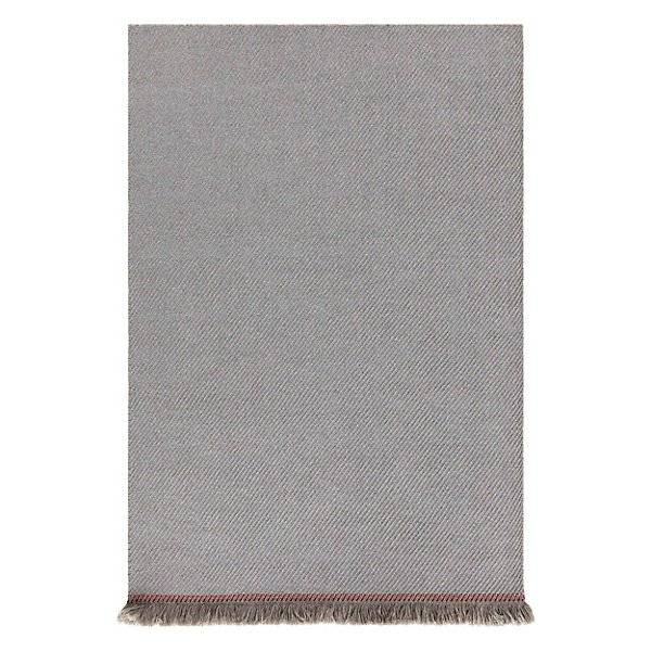 Gan Rugs Garden Layers Outdoor Diagonal Rug - Color: Red - Size: 6 Ft. 7 In. X 9 Ft. 9 In. - 02GA32003URG3