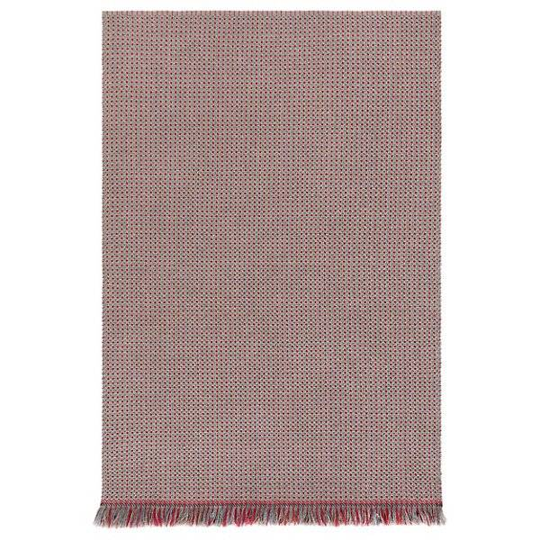 Gan Rugs Garden Layers Outdoor Gofre Rug - Color: Blue - Size: 6 Ft. 7 In. X 9 Ft. 9 In. - 02GA32003URG0