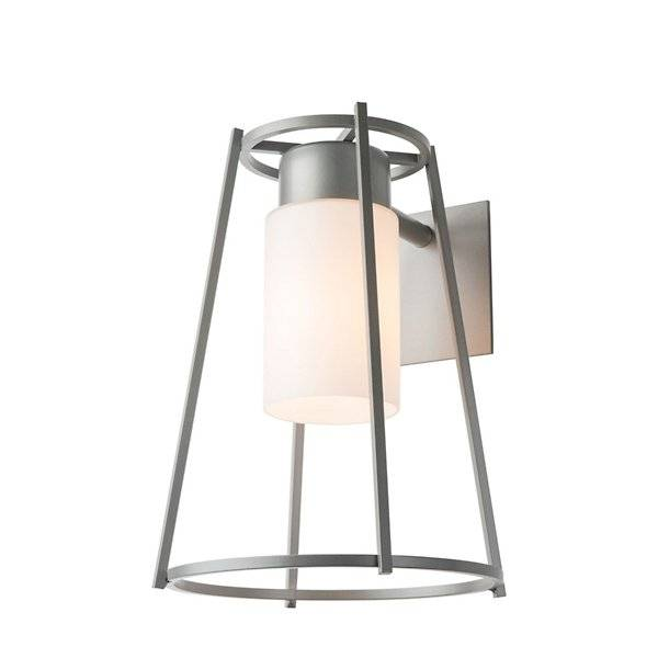 Rio Hubbardton Forge Loft Outdoor Wall Sconce - Color: White - Size: 1 light - 302570-1001