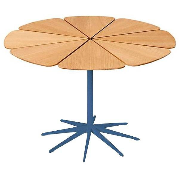 Knoll Petal Collection Dining Table - Color: Blue - P322-K-3 - Knoll Authorized Retailer