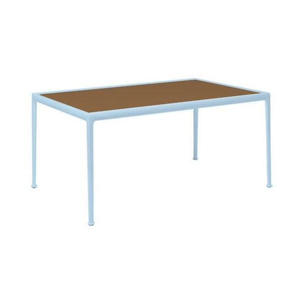 Knoll 1966 Collection 38in Rectangular Dining Table - Color: Blue - Size: 38-In X 60-In - 1966-28H-K-3 - Knoll Authorized Retailer