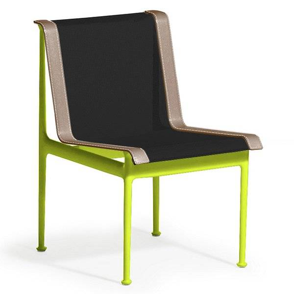 Knoll 1966 Collection Dining Chair - Color: Black - 1966-46H-B-O-1 - Knoll Authorized Retailer