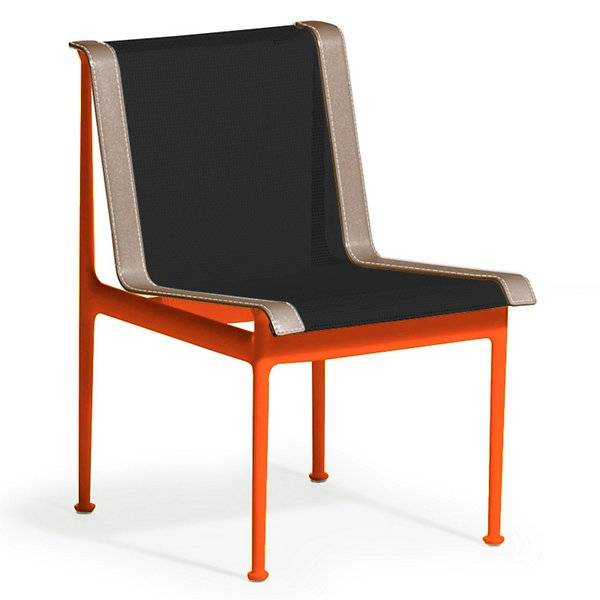 Knoll 1966 Collection Dining Chair - Color: Black - 1966-46H-B-O-6 - Knoll Authorized Retailer