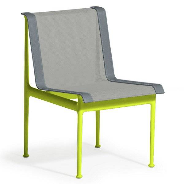 Knoll 1966 Collection Dining Chair - Color: Grey - 1966-46H-G-A-1 - Knoll Authorized Retailer