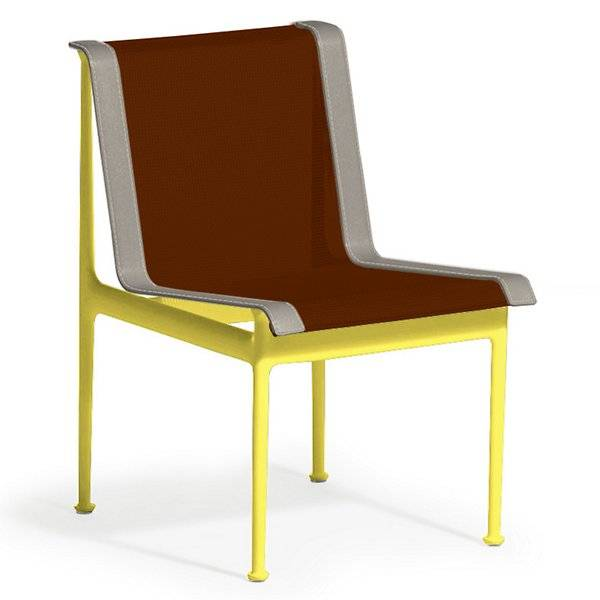 Knoll 1966 Collection Dining Chair - Color: Brown - 1966-46H-S-N-2 - Knoll Authorized Retailer