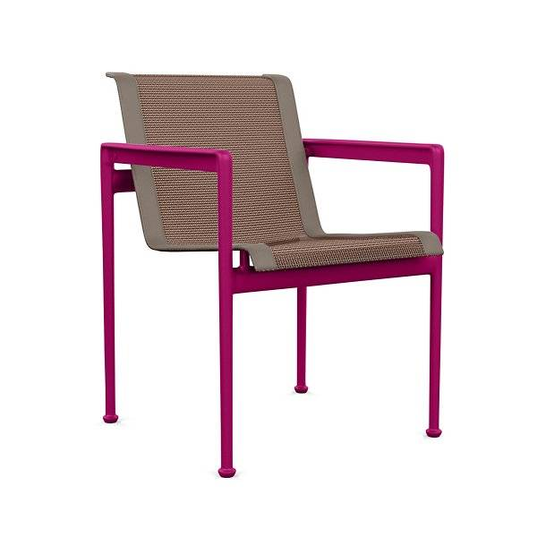 Knoll 1966 Collection Dining Chair with Arms - Color: Multicolor - 1966-45H-S-N-PLM - Knoll Authorized Retailer