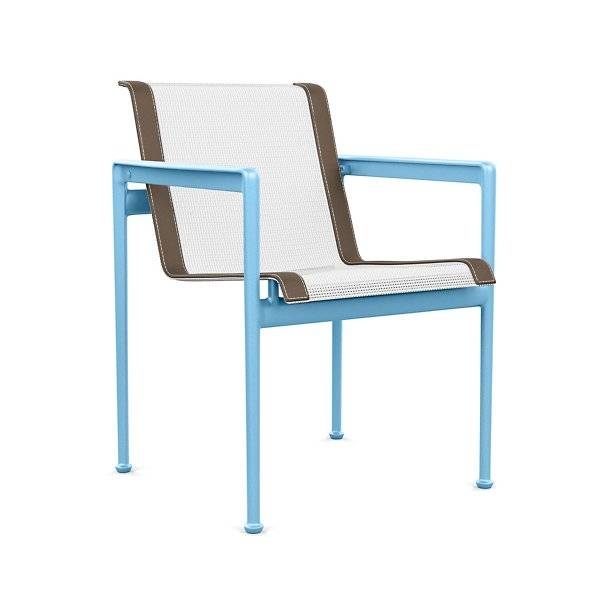 Knoll 1966 Collection Dining Chair with Arms - Color: Multicolor - 1966-45H-B-W-3 - Knoll Authorized Retailer