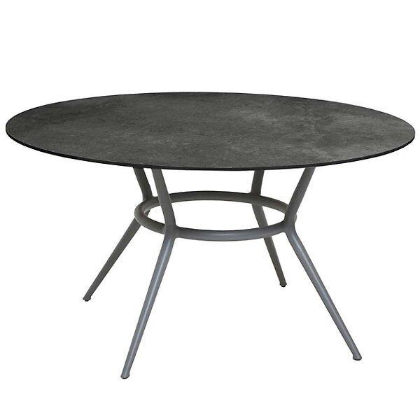 Cane-line Joy Round Dining Table - Color: Grey - P144HPSDG   50202AL