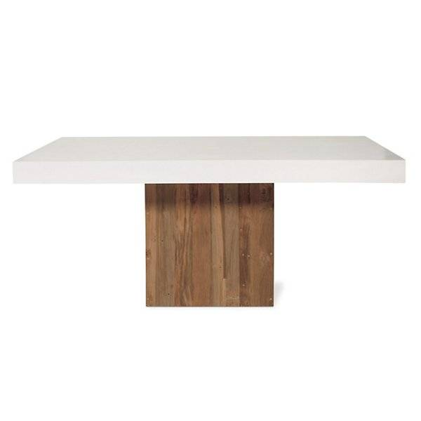 Seasonal Living Sparta Dining Table - Color: White - 501FT043P2W