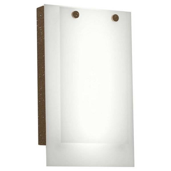 Ultralights Invicta 16352 Outdoor LED Wall Sconce - Color: White - Size: 1 light - 16352-BA-WS-02