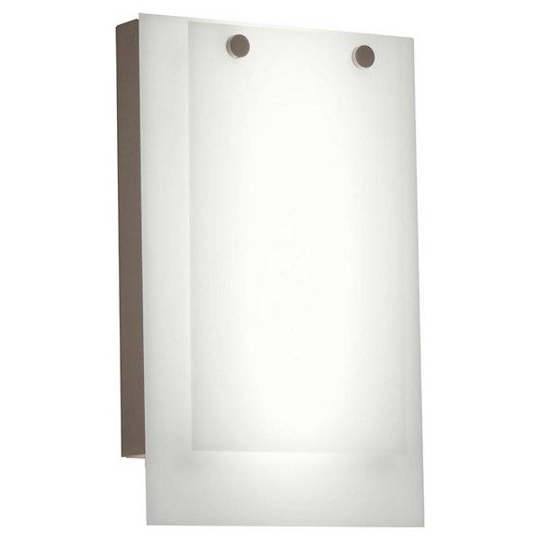 Ultralights Invicta 16352 Outdoor LED Wall Sconce - Color: White - Size: 1 light - 16352-CB-WS-02