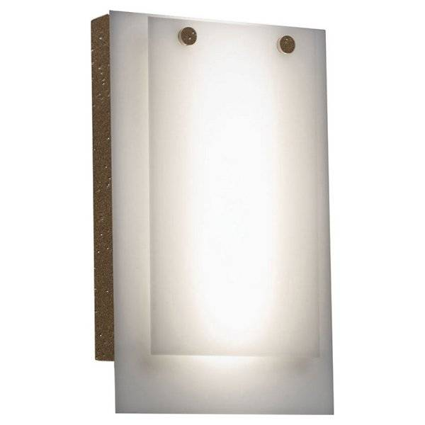 Ultralights Invicta 16352 Outdoor LED Wall Sconce - Color: White - Size: 1 light - 16352-BA-OA-02