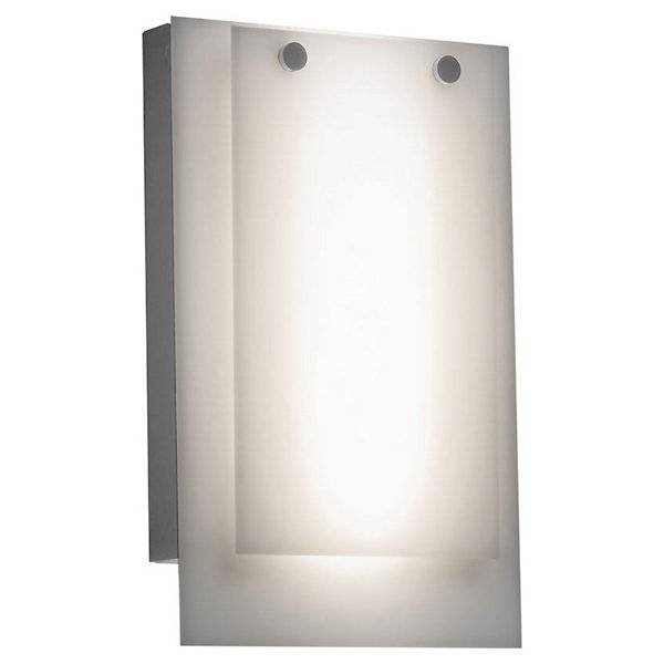 Ultralights Invicta 16352 Outdoor LED Wall Sconce - Color: White - Size: 1 light - 16352-SS-OA-02