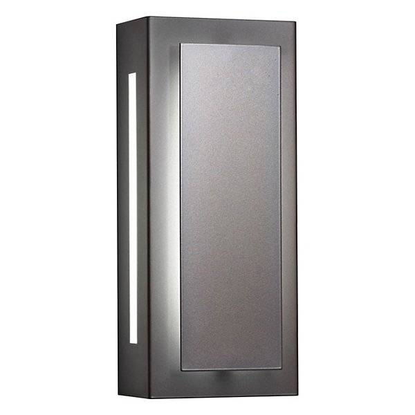 """Ultralights Invicta 16353 Outdoor LED Wall Sconce - Color: Silver - Size: 24"""" - 16353-24-SP-OA-02"""