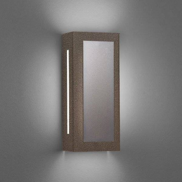 """Ultralights Invicta 16353 Outdoor LED Wall Sconce - Color: Bronze - Size: 14"""" - 16353-14-CB-OA-02"""