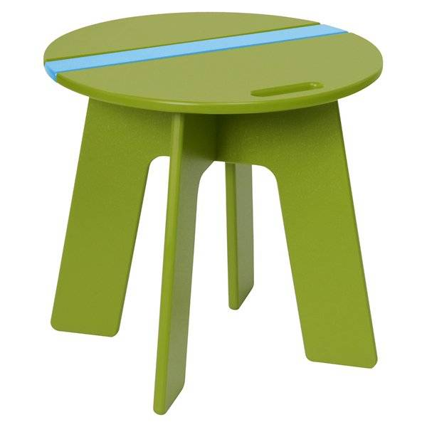Loll Designs Racer Side Car Table - Color: Green - RC-RSC-LG