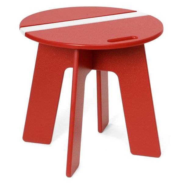 Loll Designs Racer Side Car Table - Color: Red - RC-RSC-AR