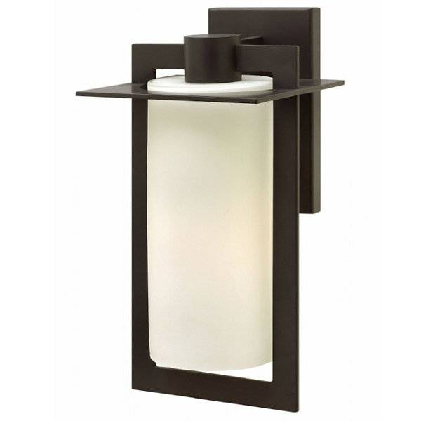 Hinkley Colfax Outdoor Wall Sconce - Color: Brown - Size: Medium - 2924BZ