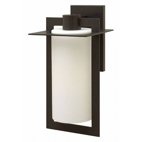 Hinkley Colfax Outdoor Wall Sconce - Color: Brown - Size: Large - 2925BZ