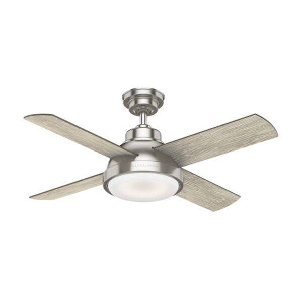 Casablanca Fan Company Levitt Ceiling Fan - Color: Metallics - Blade Color: Brushing Barnwood & Rustic Oak - 59436