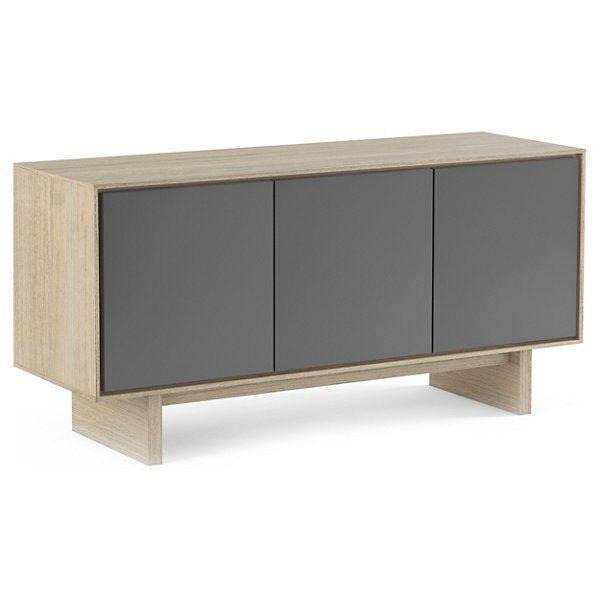 BDI Furniture Octave Media Cabinet - Color: Wood tones - Size: Triple-Width - 8377 GFL-DOK