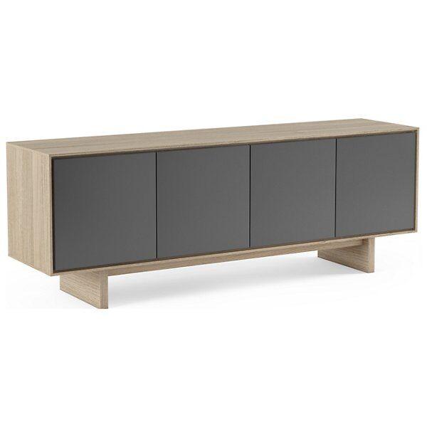 BDI Furniture Octave Media Cabinet - Color: Wood tones - Size: Quad-Width - 8379 GFL-DOK