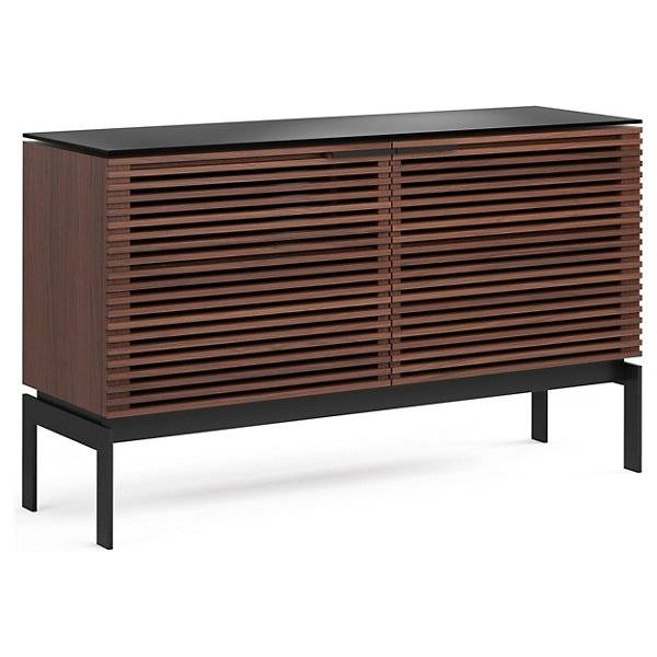 BDI Furniture Corridor SV Media Cabinet - Color: Wood tones - Size: Double-Width - 7128 CWL