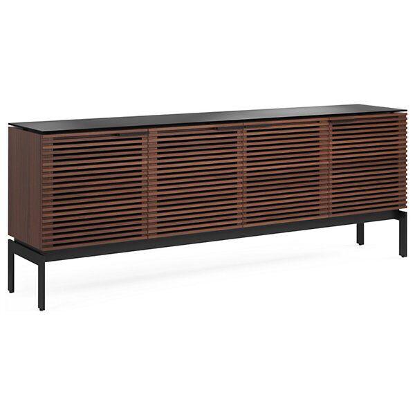 BDI Furniture Corridor SV Media Cabinet - Color: Wood tones - Size: Quad-Width - 7129 CWL