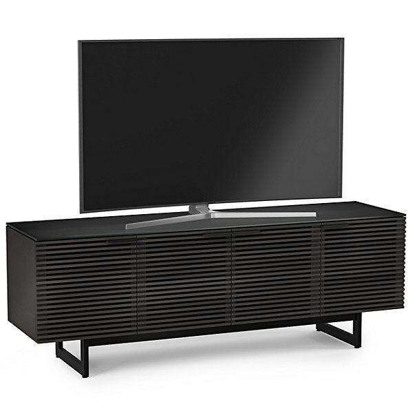 BDI Furniture Corridor Media Cabinet - Color: Black - Size: Quad-Wide - 8179 CRL