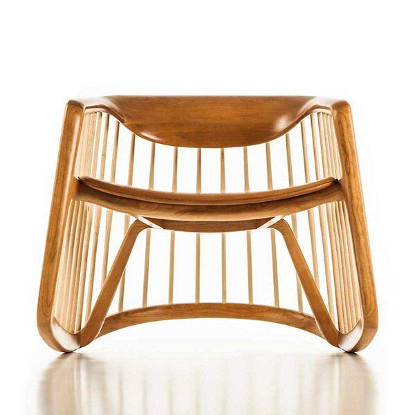 Bernhardt Design Harper Rocking Chair - Color: Beige - 1889_3110_205